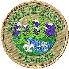 leave no trace badge